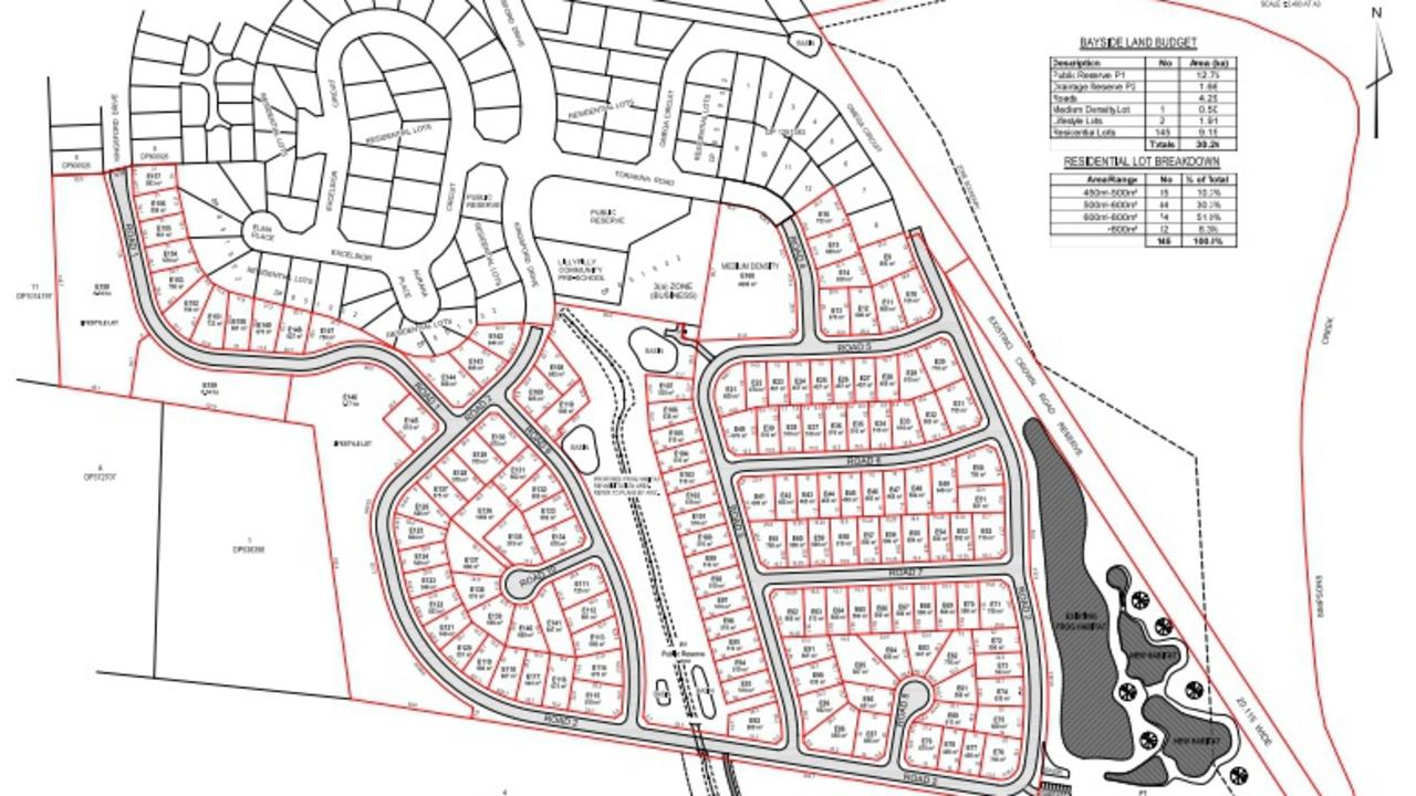A proposal for a new residential subdivision is on public exhibition.