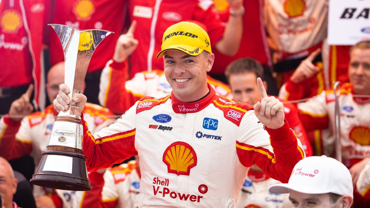 Scott McLaughlin will aim for his third consecutive Supercars Championship series victory upon his return from racing in the IndyCar series. Picture: Daniel Kalisz/Getty Images