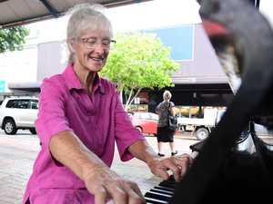 The story of Bundaberg's new CBD piano