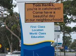 Queensland school's plan to lure Hanks