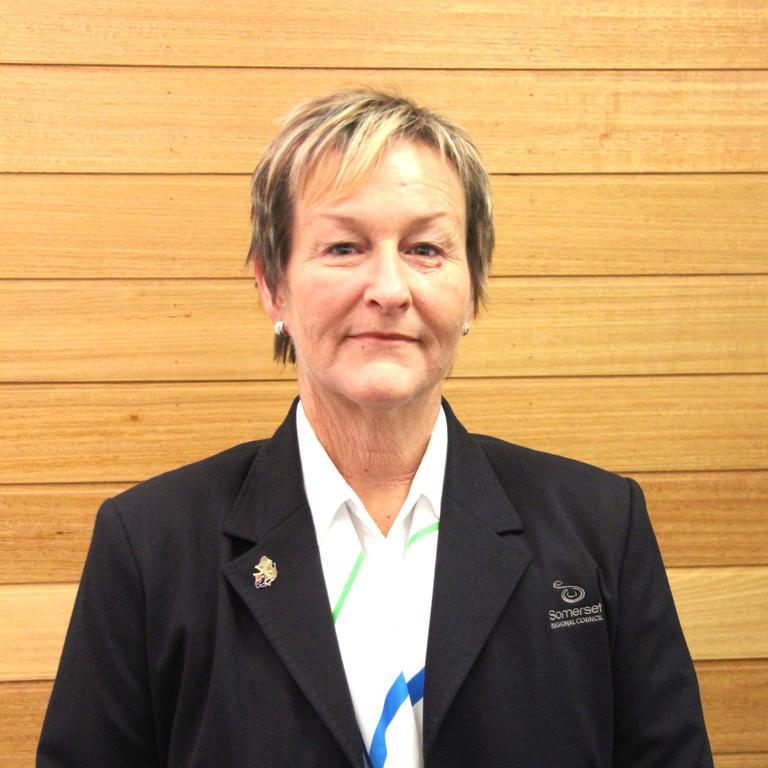 Somerset Regional Councillor Helen Brieschke.