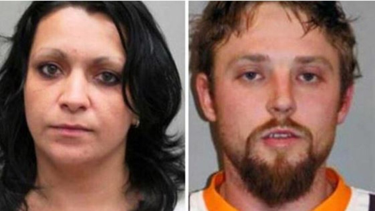 The bodies of Iuliana Triscaru and Cory Breton were found in a large metal toolbox.
