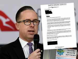 Qantas threatens to sack cleaners over coronavirus fears