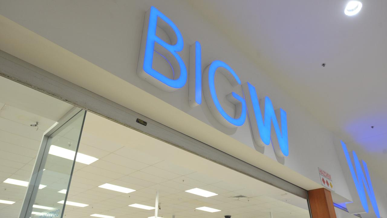 NO VERDICT: A representative for Big W says there have been no further store closure announcements and the Kingaroy Shoppingworld store is trading as usual. Picture: Rob Wright