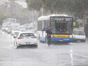 Roads flood as drenching continues