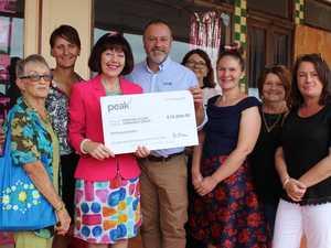 Burnett community benefits from generous bursary gift
