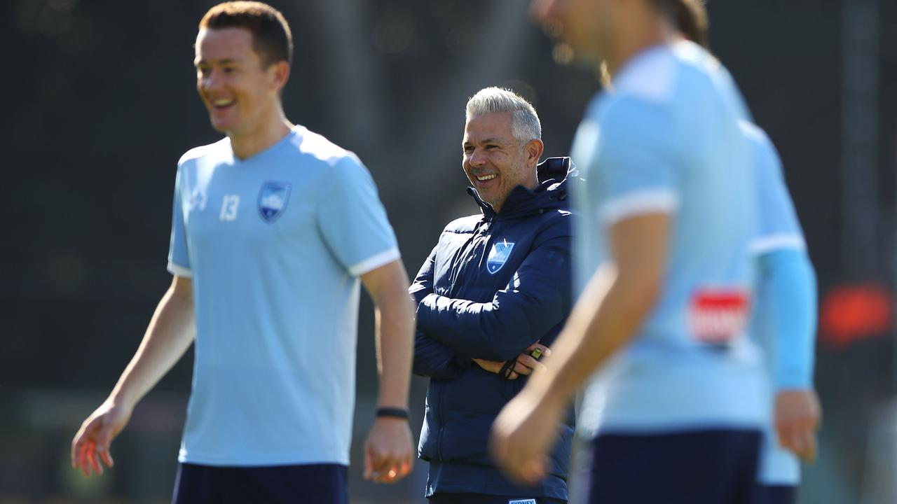Steve Corica will have Sydney FC primed for the Wanderers. Photo: Mark Kolbe/Getty Images