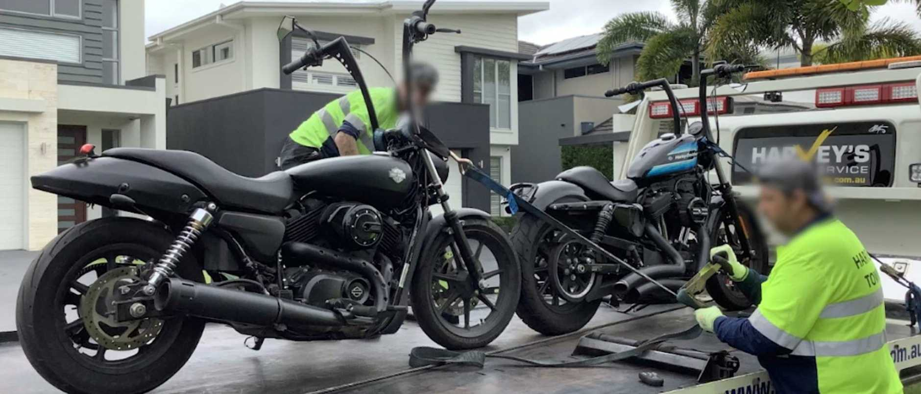 The president of a major bikie club has been arrested after a series of raids targeting Outlaw Motorcycle Groups.