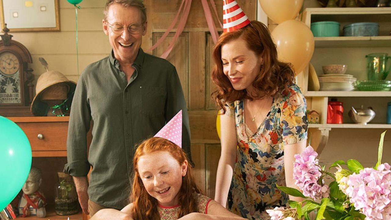 Richard Roxburgh and Emma Booth star as the parents in this family tale.