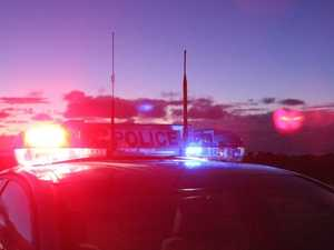 Speeding truck driver caught high on drugs