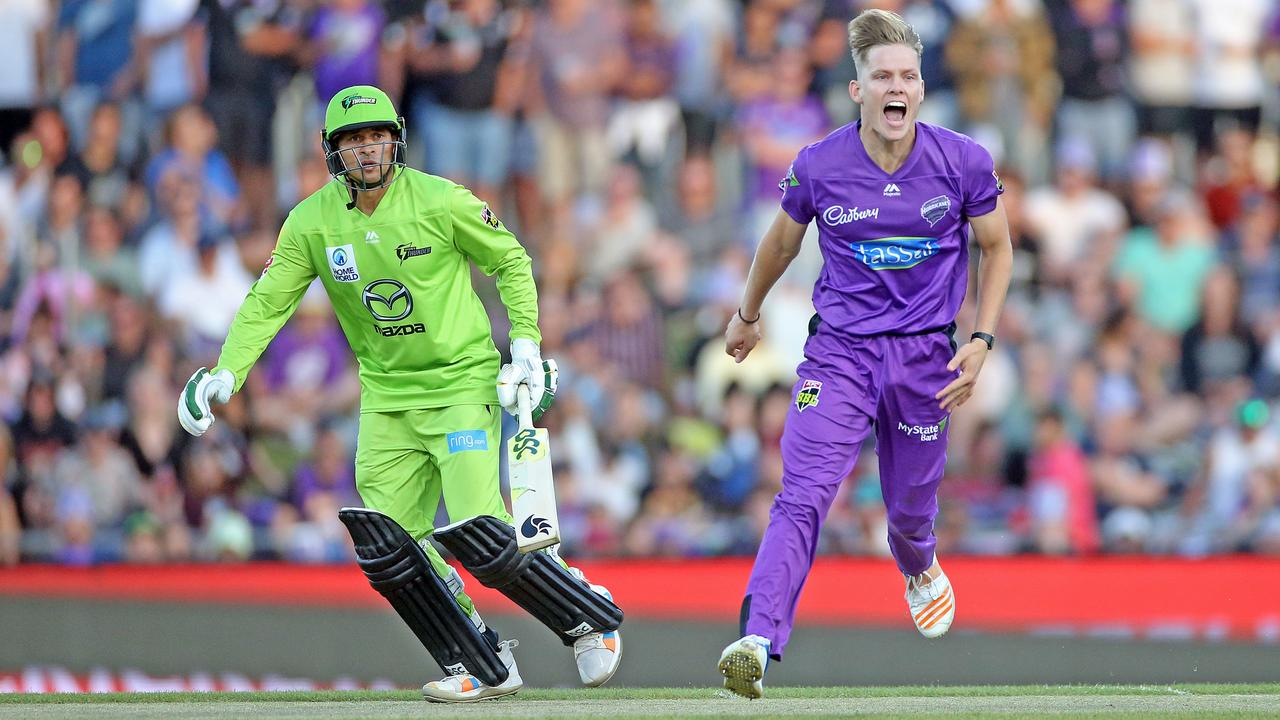 Nathan Ellis made people sit up and take notice in a stellar first BBL season for the Hurricanes.