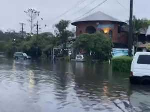 Byron Bay inundated by water after heavy downpour