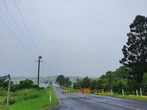 ROAD CLOSURES: Heavy rain continues to impact roads