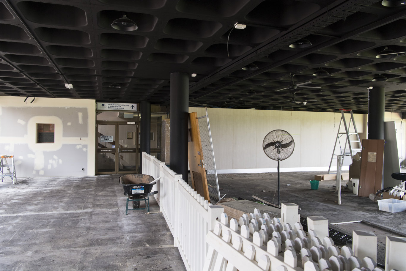 Toowoomba Turf Club renovates the betting auditorium for Clifford Park patrons, Friday, February 7, 2020. Picture: Kevin Farmer