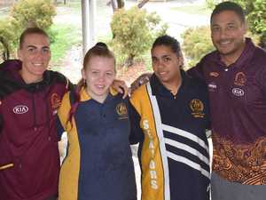 Students set for success, inspired by Broncos stars