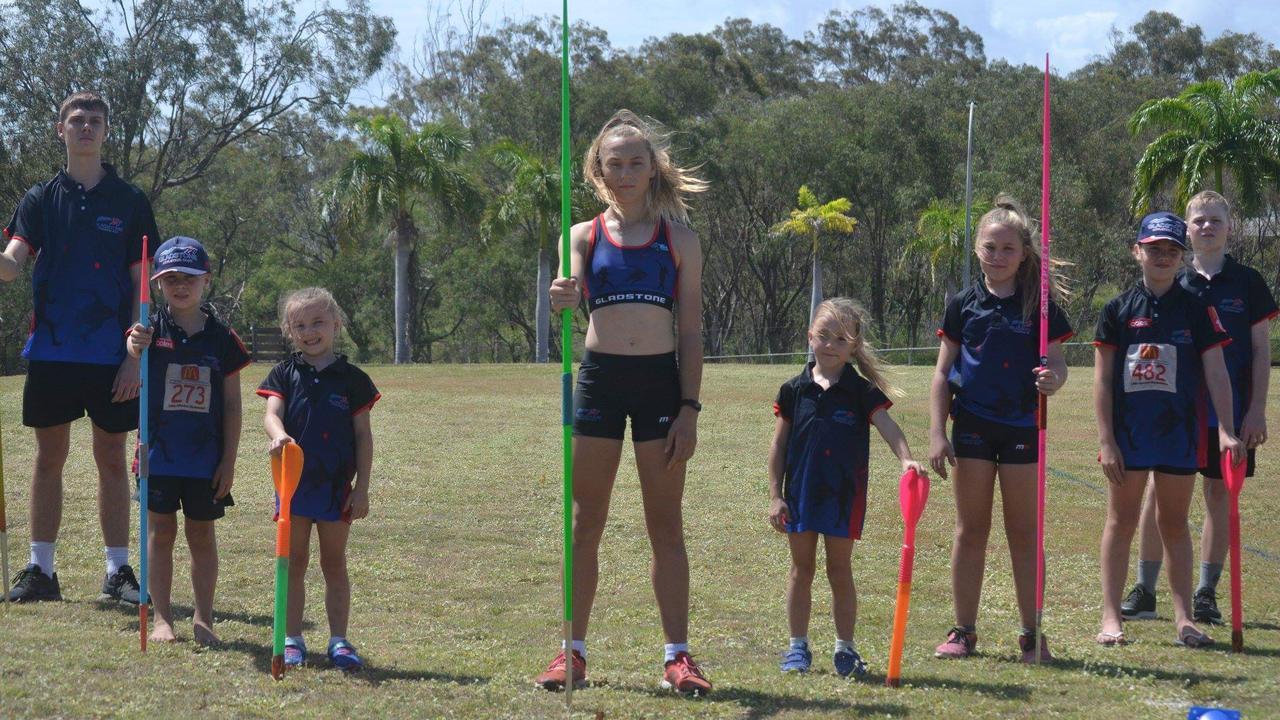 Gladstone Athletics Club kids