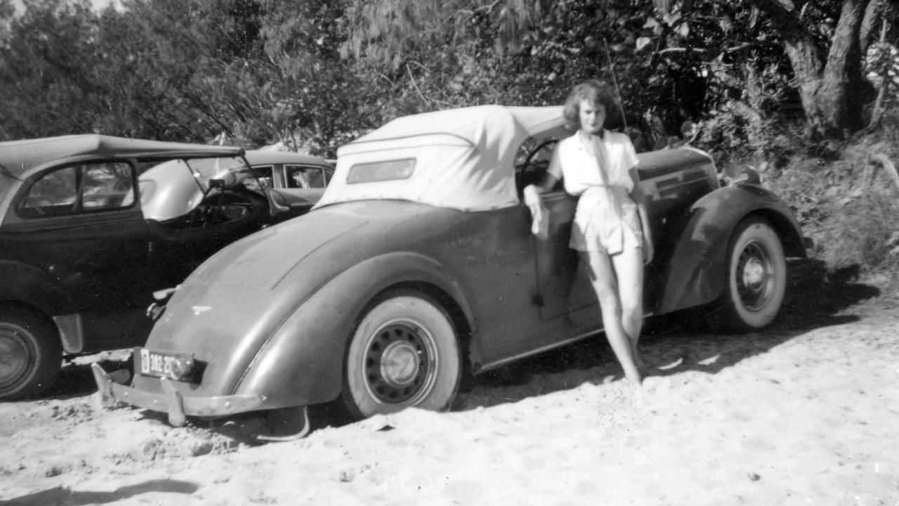 Mooloolaba Beach, 1952.