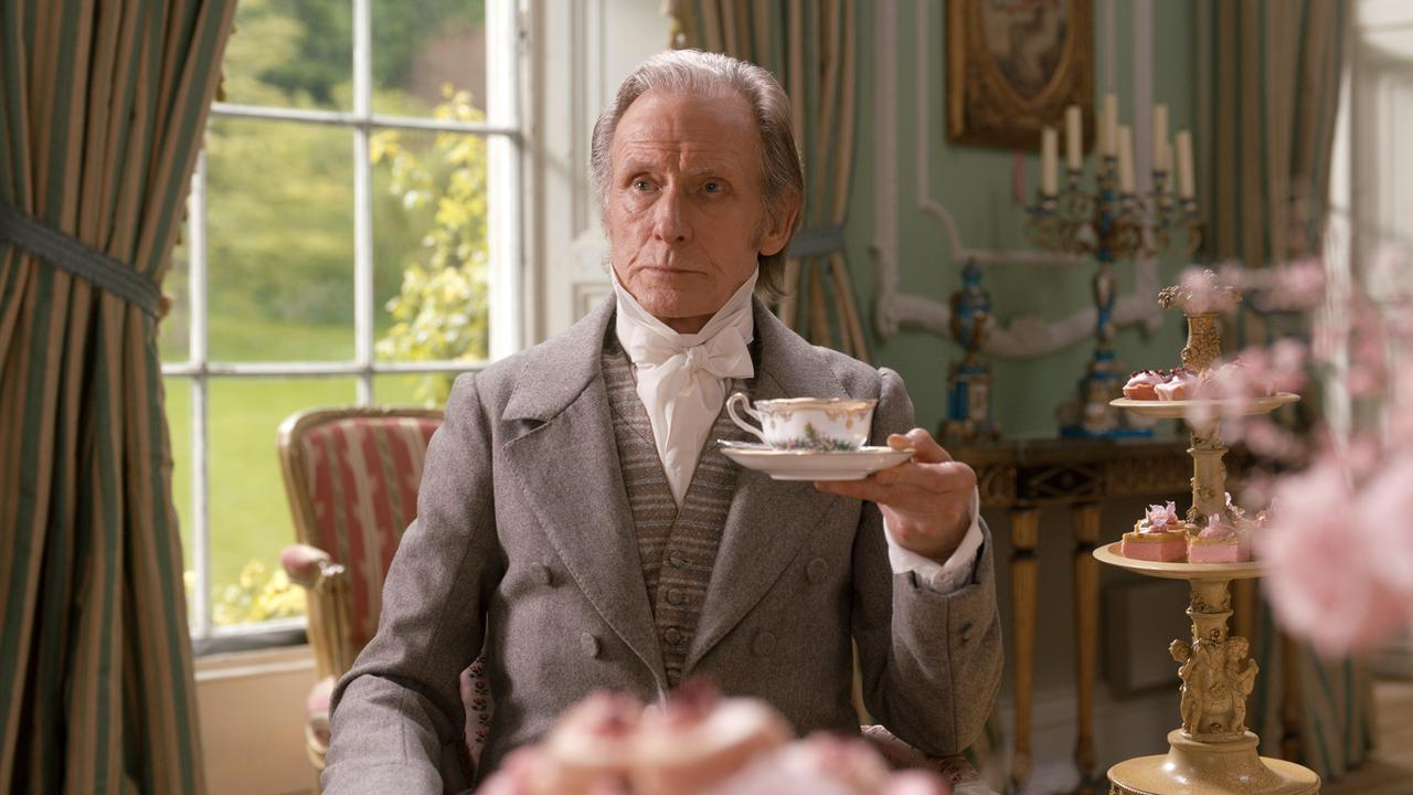 Bill Nighy in a scene from the movie Emma. Supplied by Universal Pictures.