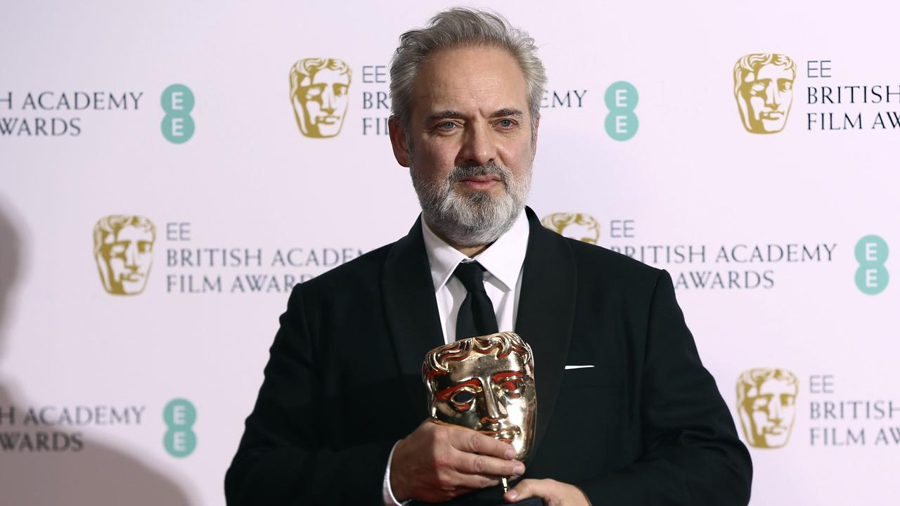 Director Sam Mendes won the Best Director award for 1917 at the Baftas in London earlier this week. Picture: Joel C Ryan/Invision/AP