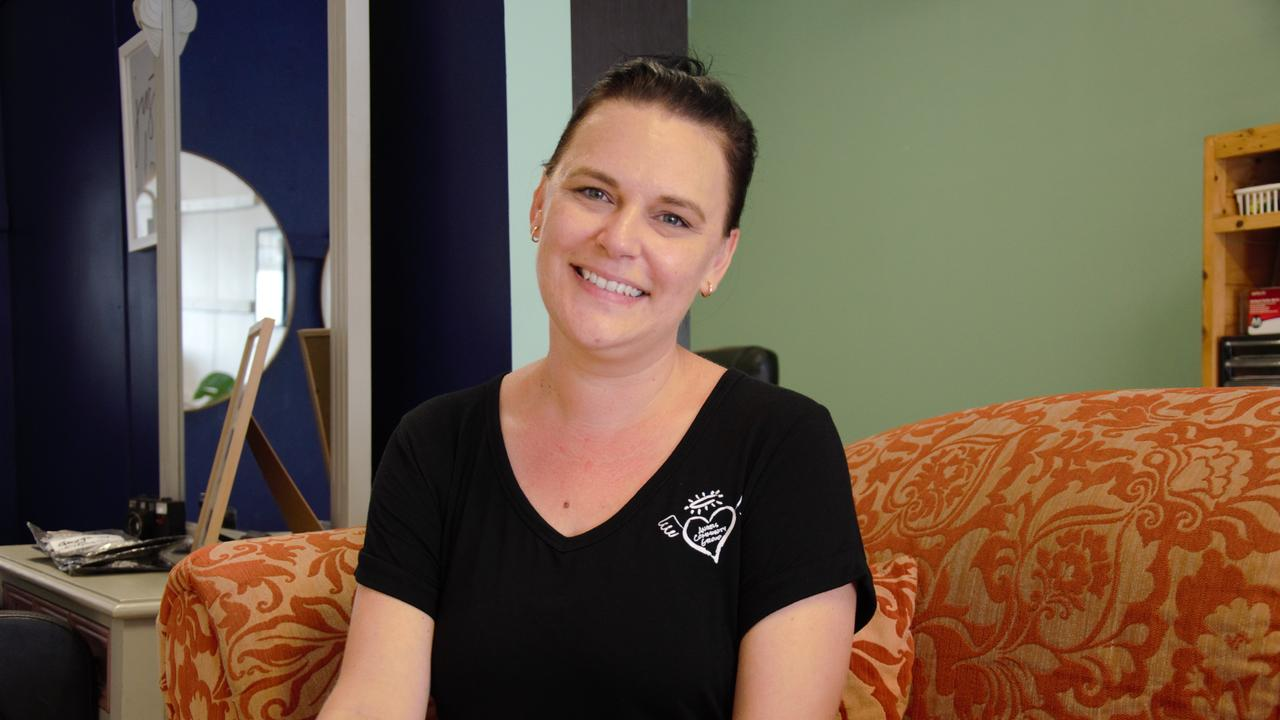 Angels Fundraising and Engagement Co-ordinator Tunja Cottier is encouraging Bundaberg to donate to their hampers.