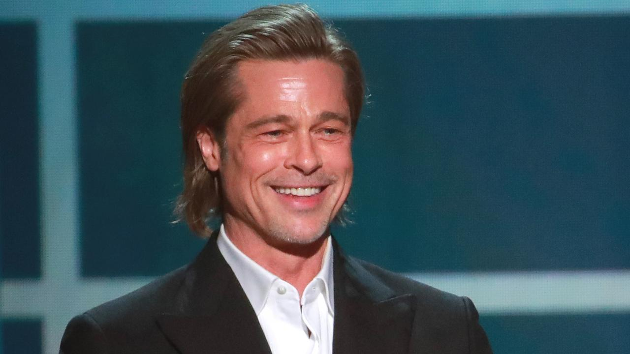 Brad Pitt is likely to score Best Supporting Actor at this year's Oscars. Picture: Rich Fury/Getty Images