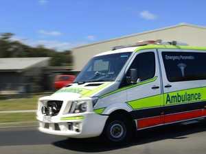 BREAKING: Car crashes down embankment at Cap Coast