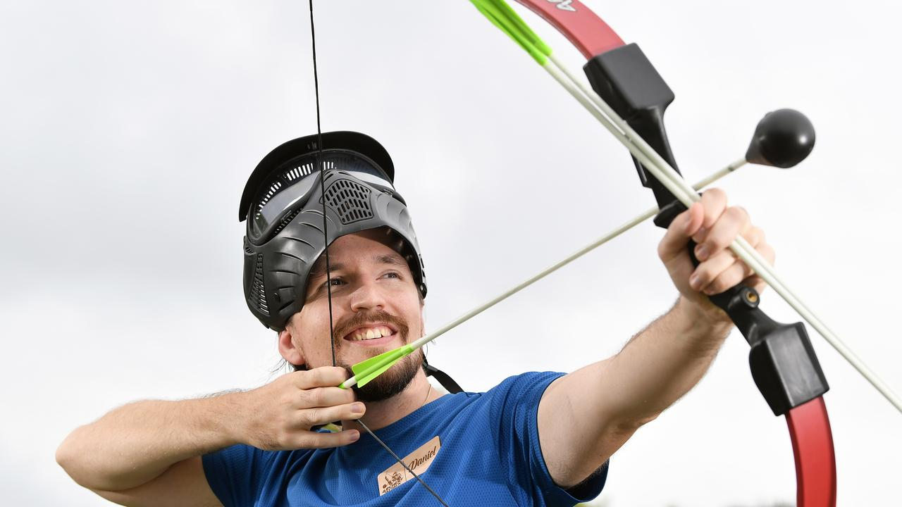 Daniel Bloomfield has just opened Archery Attack on the Coast. Photo: Patrick Woods