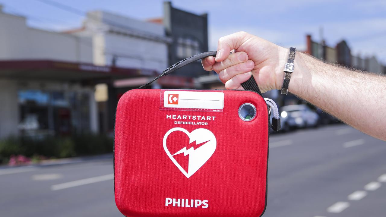 Defibrillators are designed to be easy to use. Picture: Wayne Taylor