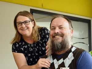 Toowoomba man goes hairy for good cause