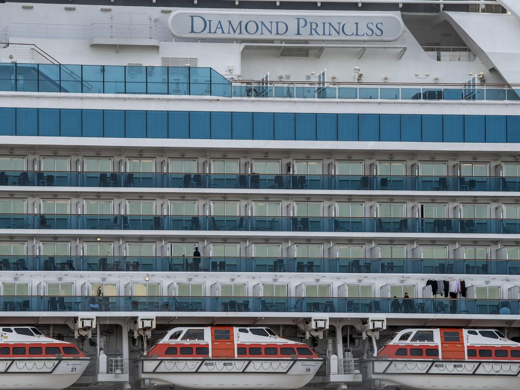 More than 60 people have tested positive for coronavirus on the Diamond Princess cruise ship. Picture: Getty Images