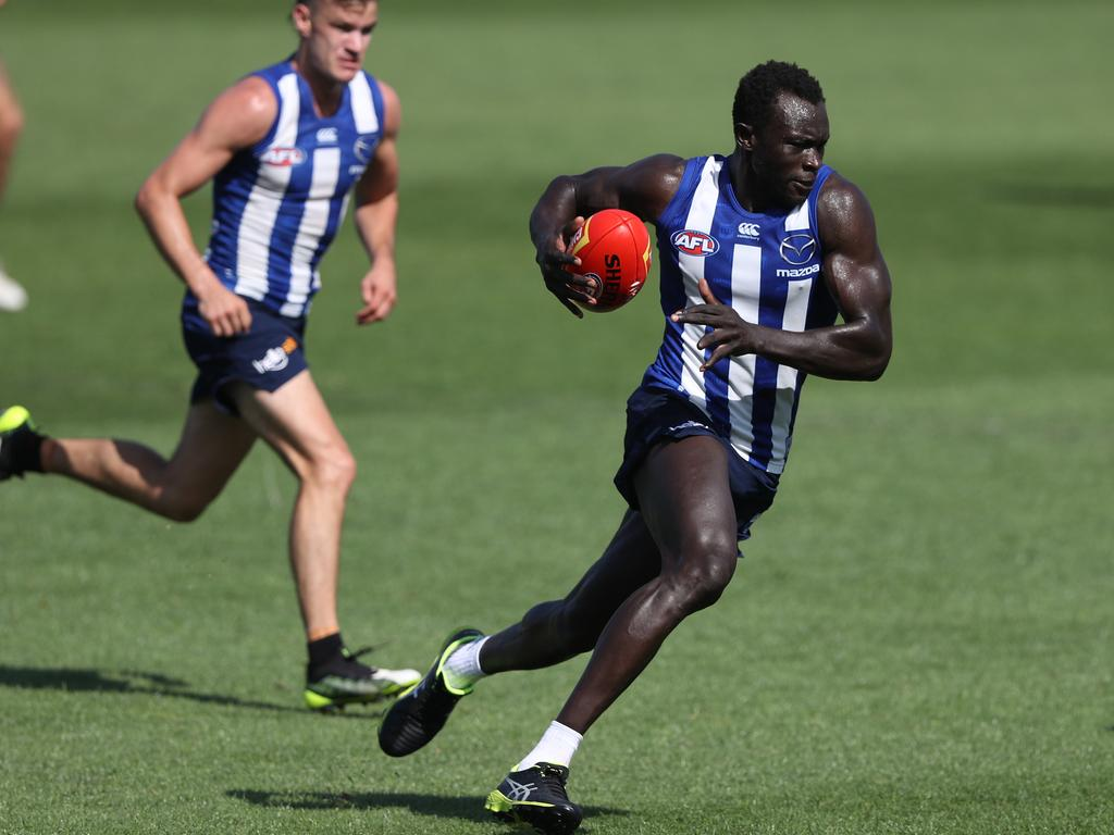 Majak Daw is impressing at pre-season training.