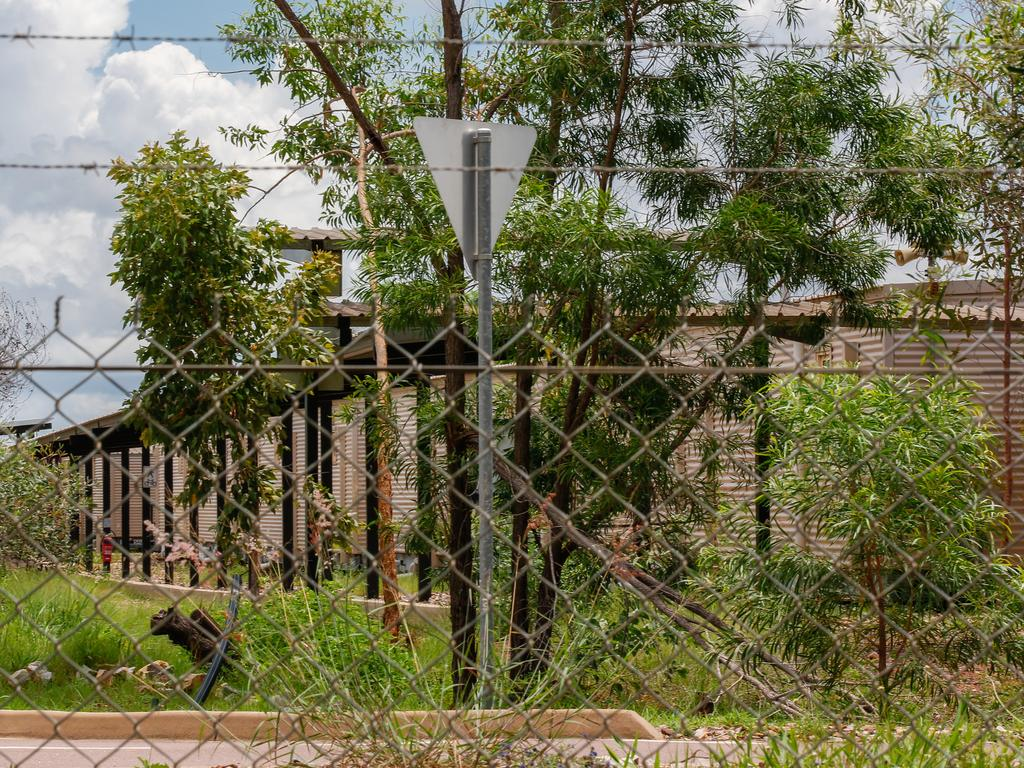 The former Inpex Workers Village at Howard Springs in Darwin. Picture: Glenn Campbell