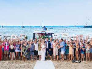 REVEALED: Flash mob wedding showcases Whitsundays