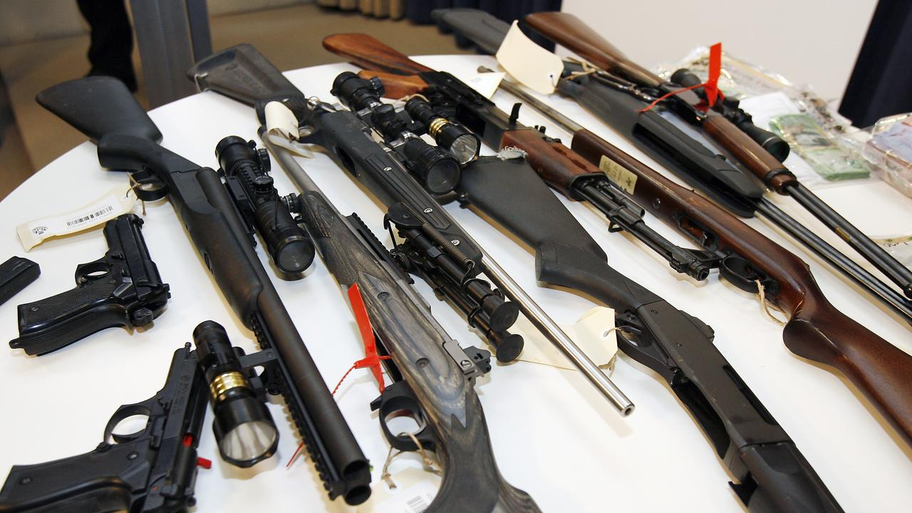 NEHundreds of weapons have been stolen from regional Queensland towns in the past 18 months, and detectives believe about half of them could have ended up in the hands of dangerous criminals.
