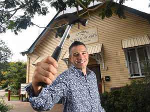 Dire straits: Historic hall on verge of collapse