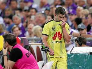 Phoenix coach takes crack at ref after loss to Perth Glory