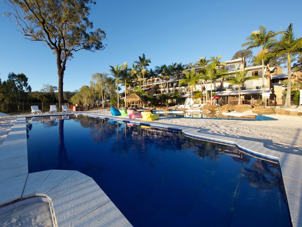 The pool at Ramada Resort Kooralbyn Valley.