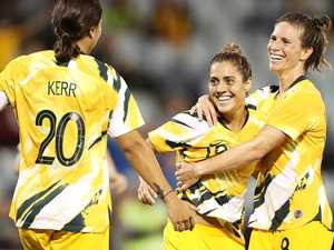 No Kerr, no worries! Matildas in seven heaven