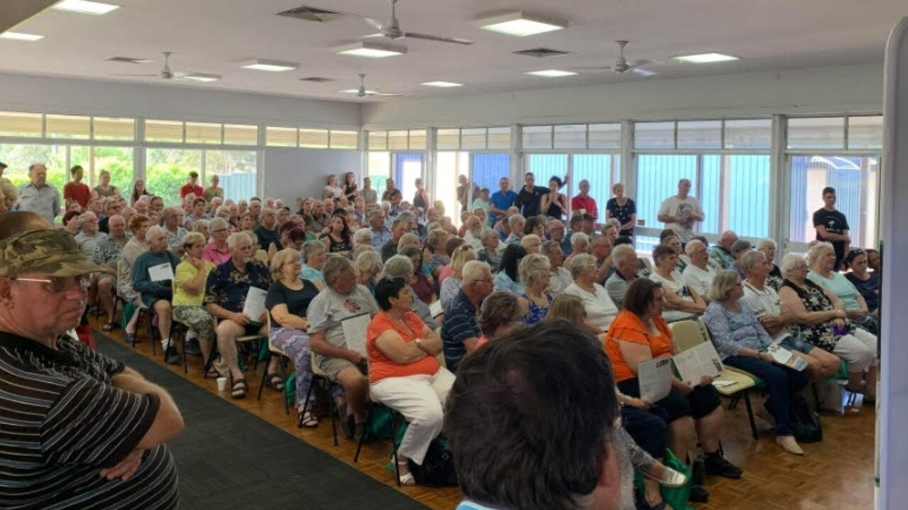 Dismayed residents met at the Bethania Community Hall to discuss the crime problem in their neighbourhood.