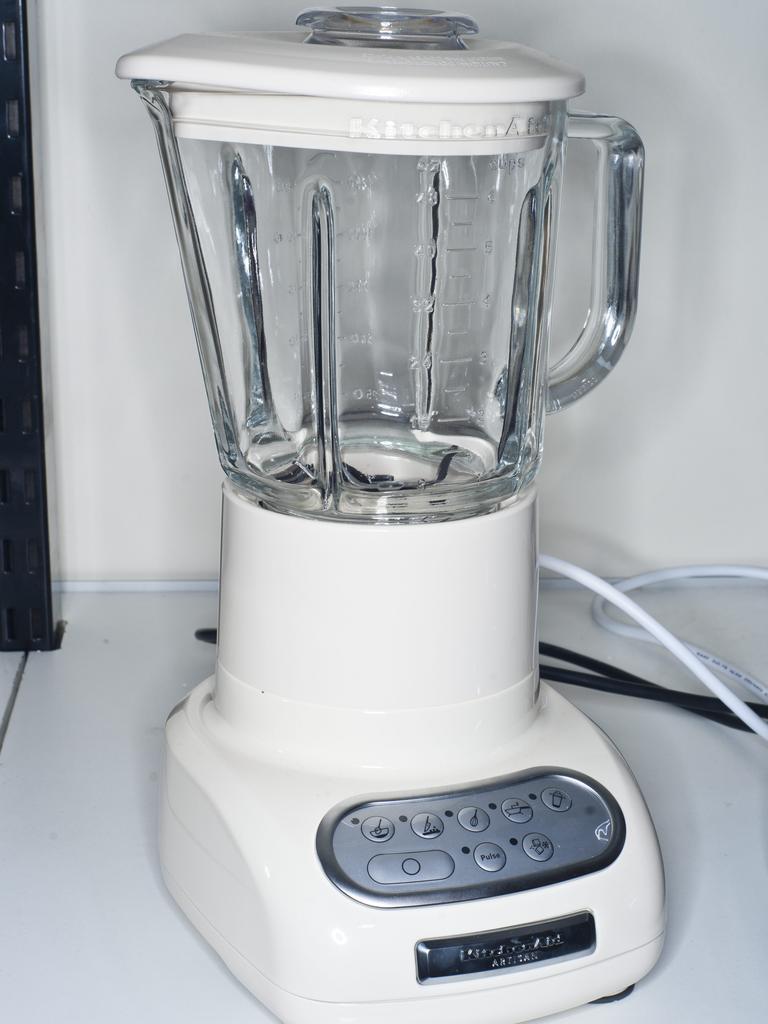 A Kitchen Aid blender.