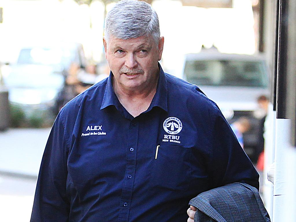 "NSW RTBU secretary Alex Claassens said the incident showed ""procedures needed to be changed""."