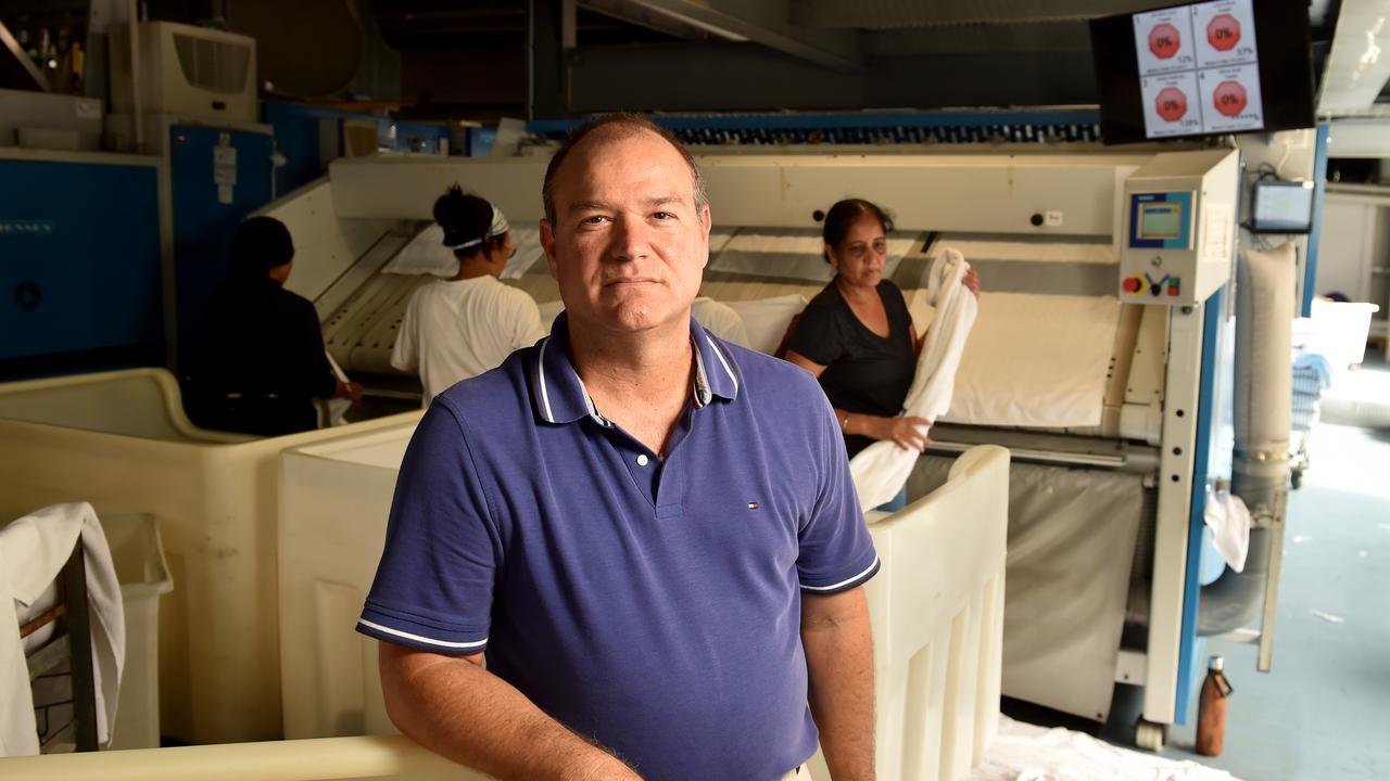 Great Northern Laundry owner Mark Bogiatzis. Picture: Evan Morgan