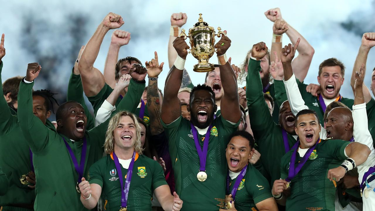 World Cup holders South Africa look set to leave the Rugby Championship.
