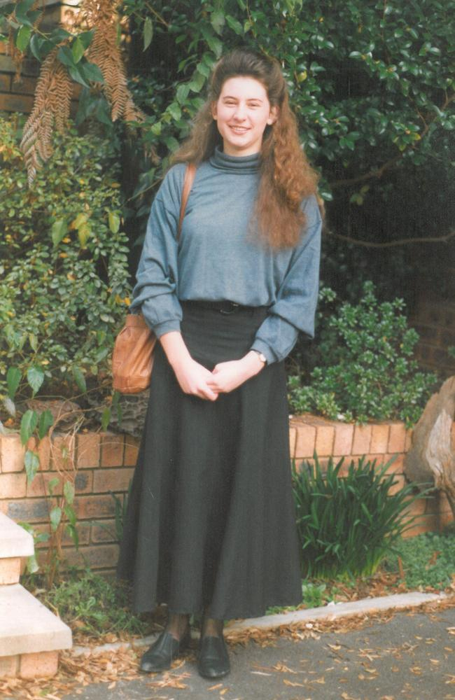 Elizabeth Coleman in 1993, the year she left the religious sect.