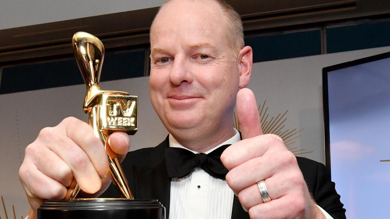 Tom Gleeson, last year's Gold Logie winner. Picture: AAP
