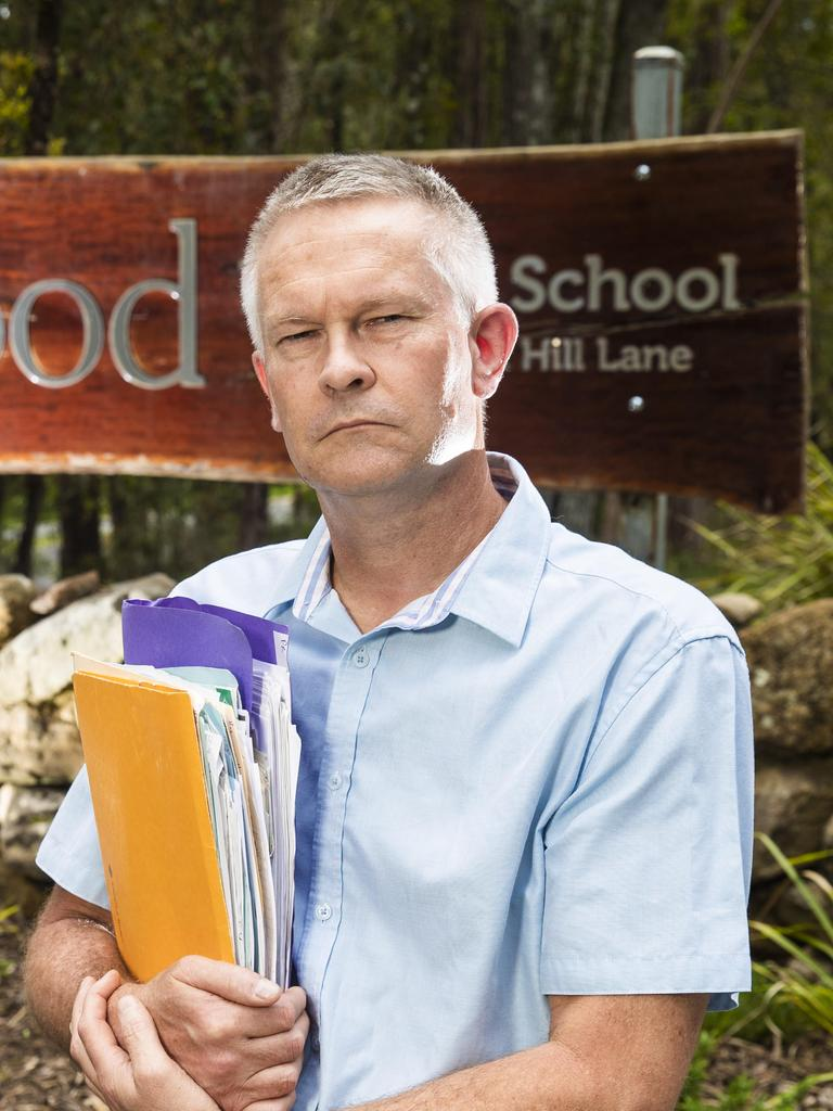 SCHOOL DEBT: Nik Cree was taken to court over unpaid school fees he refused to pay after finding out the school was not teaching the type of education he had been promised. Picture: Nigel Hallet