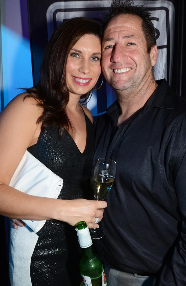 Brett Thomas and wife Mieke. Picture: Regina King
