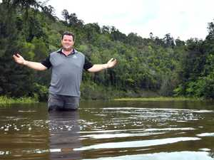 'Weather gods are smiling': Mary River flowing again