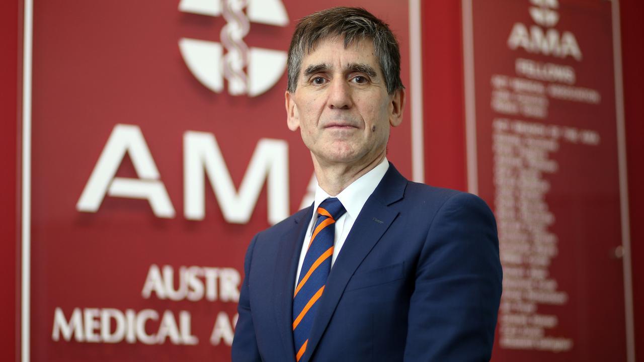 AMA president Dr Tony Bartone. Picture: Gary Ramage