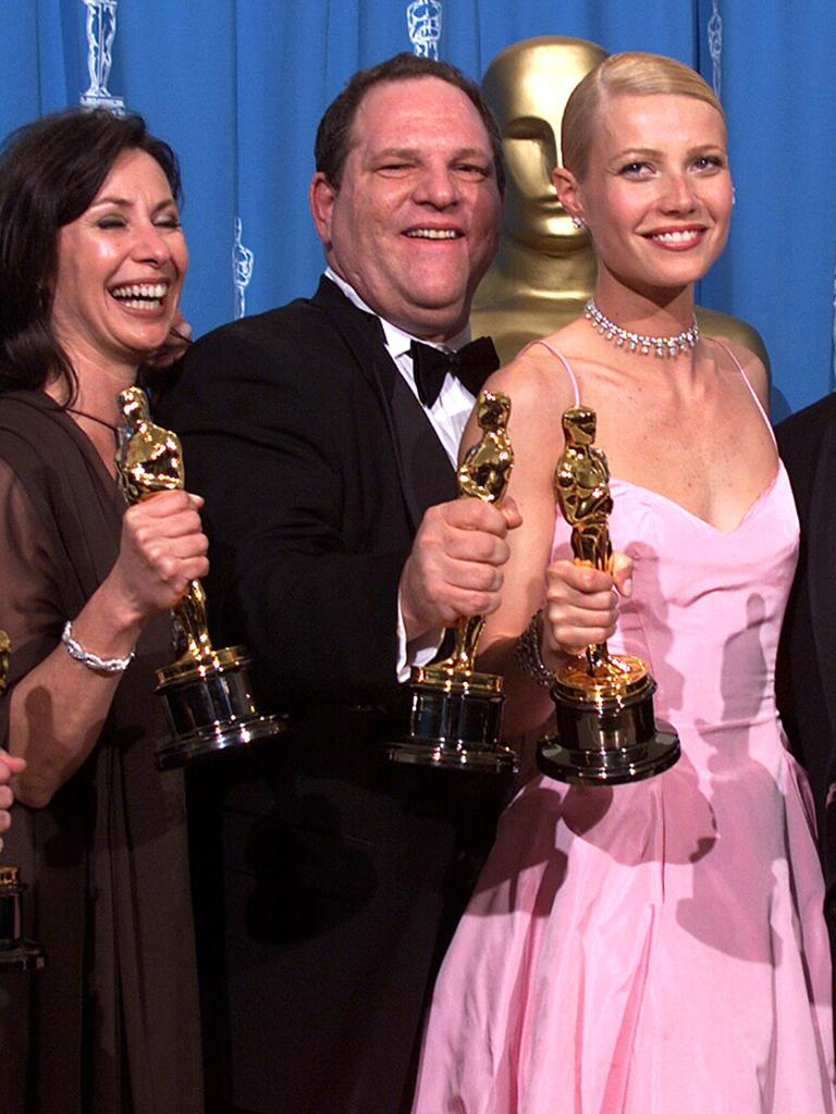 Weinstein was once a Hollywood mogul. Picture Bob Riha Jr/Getty Images